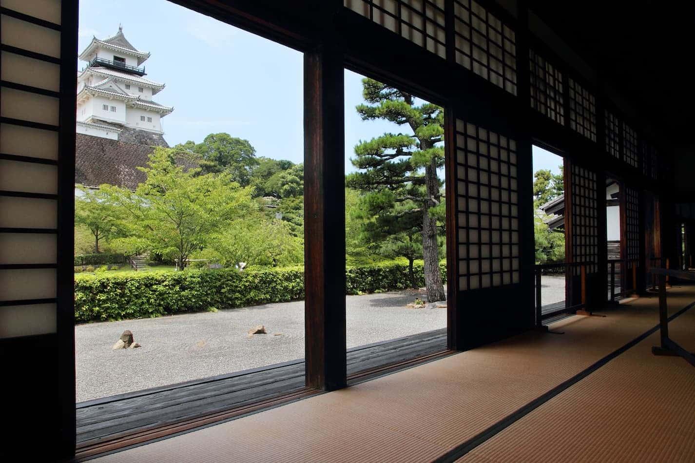 Kakegawa-jo Castelo, Kakegawa-jo palácio de Castelo
