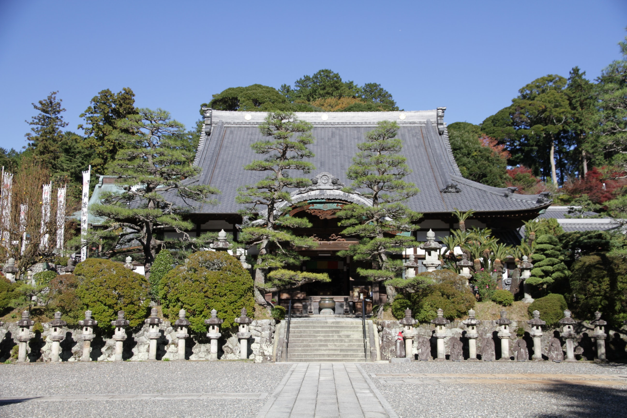 Akiba Main Hall, Kasuisai Temple